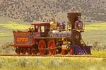 Jupiter Locomotive, Golden Spike National Historic Site, Promontory Summit, Utah