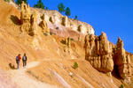Hikers on Navaho Trail, Bryce Canyon National Park, Utah