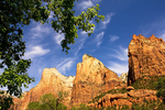 Court of the Patriarchs Erosional Formation, 3 Patriarchs Erosional Formation, Zion National Park, Utah