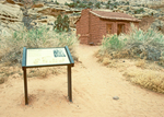 Elijah Cutler Behunin Cabin, Capitol Reef National Park, Utah,
