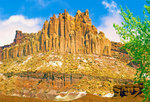 Castle Rock Formation, Capitol Reef National Park, Utah