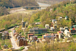Harpers Ferry from Maryland Heights, Harpers Ferry National Historical Park, West Virginia