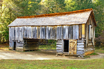 Cantilever Barn, Cades Cove, Great Smoky Mountains National Park, Tennessee