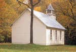 Palmer Chapel, Big Cataloochee, Great Smoky Mountains National Park, North Carolina