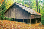John Messer Barn, Porters Creek Trail, Greenbrier Section, Great Smoky Mountains National Park, Tennessee