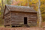 John Ownby Cabin, Fighting Creek Nature Trail, Great Smoky Mountains National Park, Tennesse