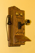 Historical Telephone, Faraway Ranch, Chiricahua National Monument, Arizona