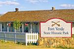 Entrance Sign, Fort Verde State Historic Park, Camp Verde, Arizona