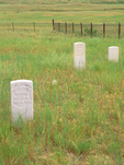 Cemetery, Custer's Last Stand, Little Bighorn Battlefield National Monument, Crow Agency, Big Horn County, Montana