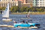 Boating Recreation on the Charles River, Boston, Massachusetts