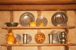 Kitchen Shelving, Plimoth Plantation, Plymouth, Massachusetts