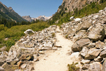 Trail into Cascade Canyon, Grand Teton National Park, Wyoming