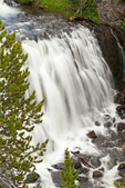 Kepler Cascades, Waterfall on the Firehole River, Yellowstone National Park, Wyoming