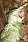 Black Canyon of the Yellowstone River from the Hellroaring Creek Trail, Yellowstone National Park, Wyoming