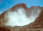Fumarole on Volcan Chico, Sierra Negra Volcano, Isabela Island, Galapagos National Park, Ecuador