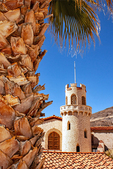 Scotty's Castle, Mission Revival Architecture, Spanish Colonial Revival style Villa, Death Valley National Park, California