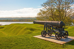 Cannon, Fort Anne National Historic Site of Canada, Annapolis Royal, Nova Scotia, Canada
