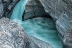 Maligne Canyon of the Maligne River, Palliser Formation, Canadian Rockies, Jasper National Park, Alberta, Canada