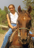 Horseback Riding in Rocky Mountain National Park, Colorado