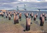 Marine Parkway Gil Hodges Memorial Bridge, Vertical Lift Bridge, Connects Queens to Brooklyn, New York