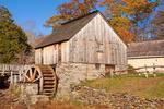 Grist Mill, Gilbert Stuart Birthplace and Museum, Kingston, Saunderstown, Rhode Island