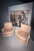 Vienna Summit Chairs, John F. Kennedy Pesidential Library and Museum, Dorchester, Boston, Massachusetts
