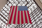 American Flag, John F. Kennedy Pesidential Library and Museum, Dorchester, Boston, Massachusetts