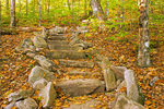 Stone Steps, Dickey Mountain Trail, Waterville Valley, White Mountains, New Hampshire