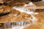 Cascade above Fawn Pool, Bemis Brook Trail, Crawford Notch State Park, White Mountains, New Hampshire