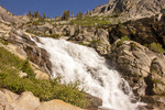 Tokopah Falls, Marble Fork of the Kaweah River, Sequoia National Park, Sierra Nevada Mountain Range, California