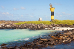 Lighthouse, Punta Suarez, Hood Island, Espanola, Galapagos National Park, Galapagos Islands, Ecuador