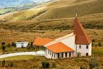 Ermita de la Dolorosa, Hermitage Chapel on Pichincha Volcano, Teleferico Gondola Lift, Pichincha Volcano, Quito, Ecuador