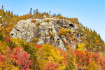 Artist's Bluff in Autumn, Franconia Notch State Park, White Mountains, New Hampshire