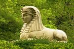 Sphinx Memorial at Mount Auburn Cemetery, Cambridge, Massachusetts