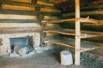General Peter Muhlenberg Brigade Huts Interior, American Revolutionary War, Valley Forge National Historical Park, Pennsylvania