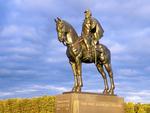 Stonewall Jackson Statue, Manassas National Battlefield Park, American Civil War, Virginia