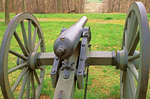 Cannon on Bolivar Heights, American Civil War, Harpers Ferry National Historical Park, West Virginia