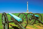 Civil War Cannon, New York State Monument, Antietam National Battlefield, American Civil War Battle of Antietam, Battle of Sharpsburg, Sharpsburg, Maryland