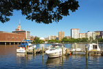 Museum of Science, Boats on the Charles River, Boston, Massachusetts