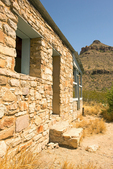 Walls and Mountains, Homer Wilson Ranch, Blue Creek Ranch, Chisos Mountains, Chihuahuan Desert, Big Bend National Park, Texas