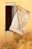 Window, Homer Wilson Ranch, Blue Creek Ranch, Chisos Mountains, Chihuahuan Desert, Big Bend National Park, Texas