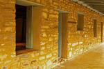 Walls, Homer Wilson Ranch, Blue Creek Ranch, Chisos Mountains, Chihuahuan Desert, Big Bend National Park, Texas