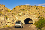 Tunnel on Highway 118 Approaching Rio Grande Village, Chihuahuan Desert, Big Bend National Park, Texas