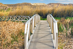 Bridge, Rio Grande Village Nature Trail, Chihuahuan Desert, Big Bend National Park, Texas
