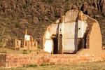 Chapel Ruins, Fort Davis National Historic Site, Davis Mountains, Fort Davis, Texas