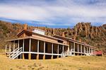Hospital, Fort Davis National Historic Site, Davis Mountains, Fort Davis, Texas