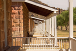Officer's Quarters, Fort Davis National Historic Site, Davis Mountains, Fort Davis, Texas