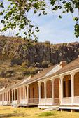 Officer's Quarters, Fort Davis National Historic Site, Davis Mountains, Fort Davis