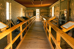 Interior, Enlisted Men's Barracks, Fort Davis National Historic Site, Davis Mountains, Fort Davis, Texas