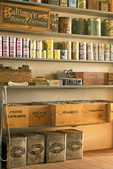 Supplies in Commissary, Fort Davis National Historic Site, Davis Mountains, Fort Davis, Texas